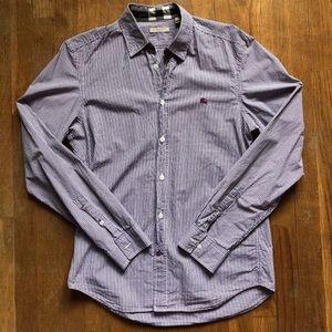 Burberry Brit Plaid Button Down Shirt Sz. M